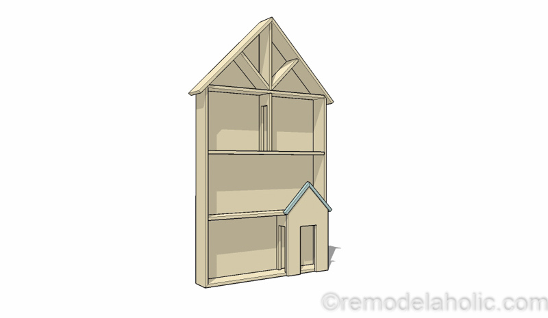 Dollhouse Project Plans 38