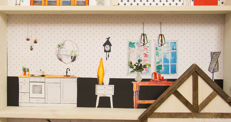 Dollhouse With Building Plan And Free Printables 24