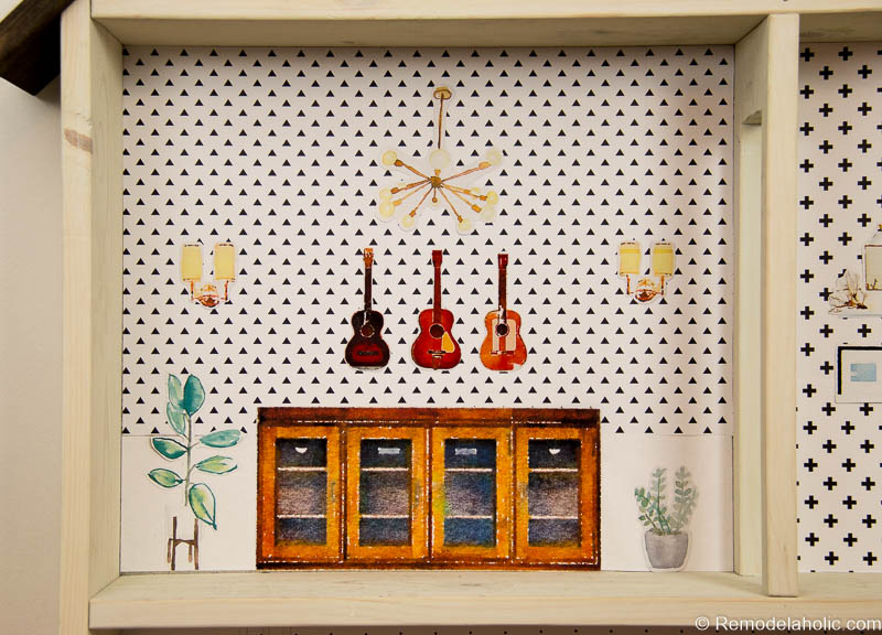 Dollhouse With Building Plan And Free Printables 26