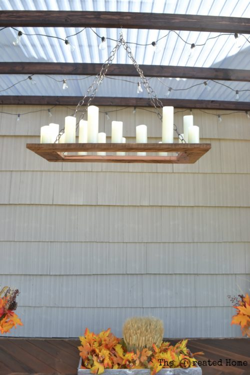 11 Budget Friendly Outdoor Lighting, A Copycat Restoration Hardware Project, By The Creative Home Featured On @Remodelaholic