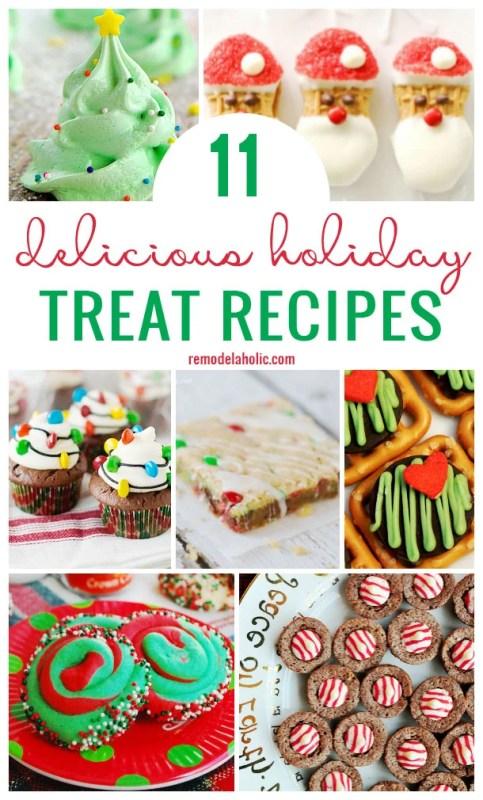 11 Delicious Holiday Treat Recipes