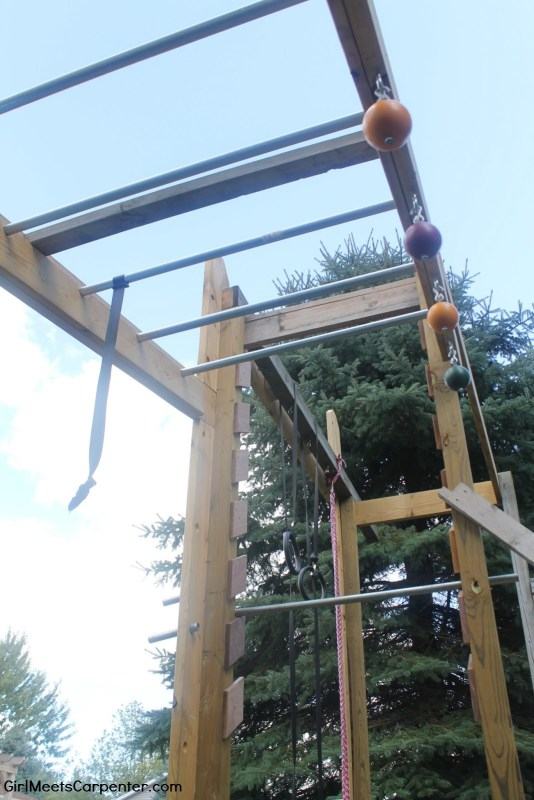 24 DIY An American Ninja Warrior Course, By Girl Meets Carpenter Featured On @Remodelaholic
