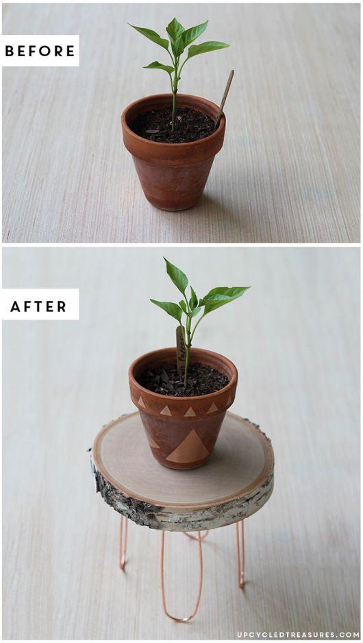DIY Plant Pots Mountain Modern Life