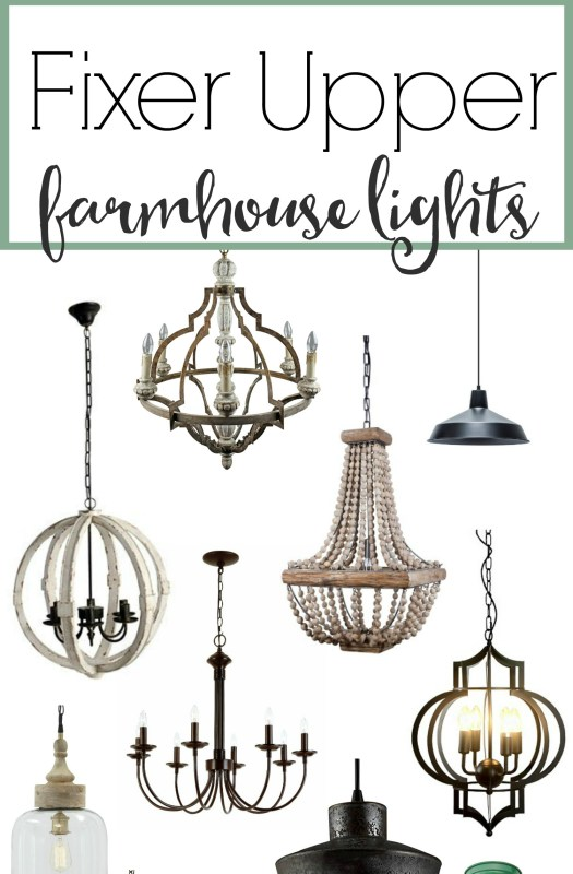 The Weathered Fox, Fixer Upper Style Farmhouse Lights