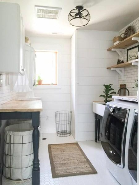 Twelve On Main, Farmhouse Laundry Room