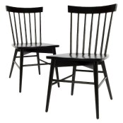 Black Windsor Dining Chairs Target