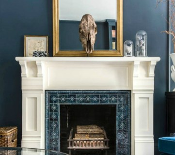 Mantel, Paint Color Spotlight Newburg Green By Benjamin Moore @Remodelaholic