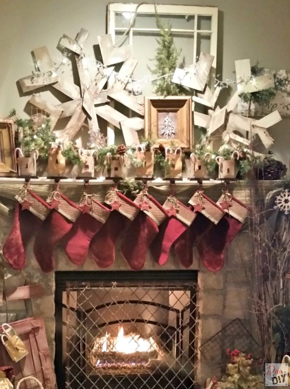 Concrete Hearths, Exposed Beams, Pallet Snowflakes and more featured on Remodelaholic.com for our Friday Favorites