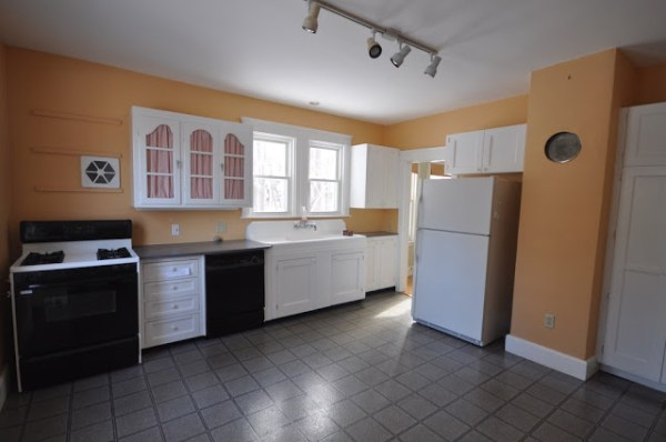 1 Kitchen Remodel, Before, By SoPo Cottage Featured On @Remodelaholic