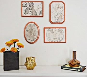 20 DIY Ideas For Vintage Wall Art A Joyful Riot