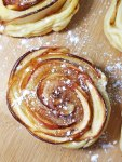 mini shaped rose apple pies 4