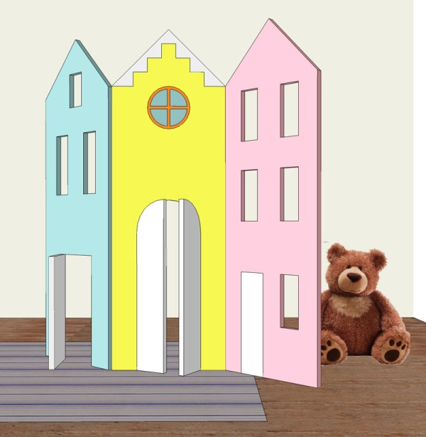 DIY Children Room Divider Apieceofrainbow ForRemodelaholic (7)