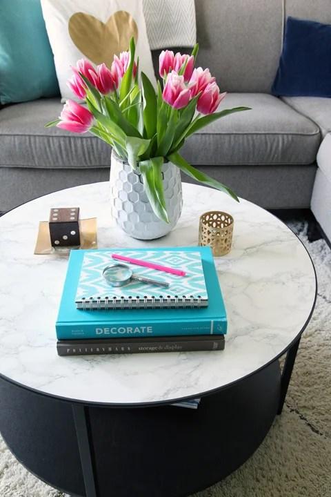 DIY Coffee Table Ideas IHeart Organizing