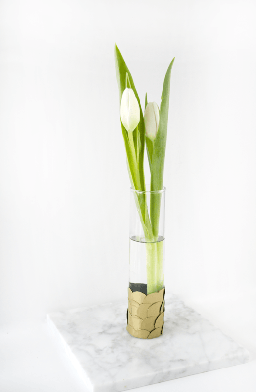 DIY Flower Vases Brepurposed