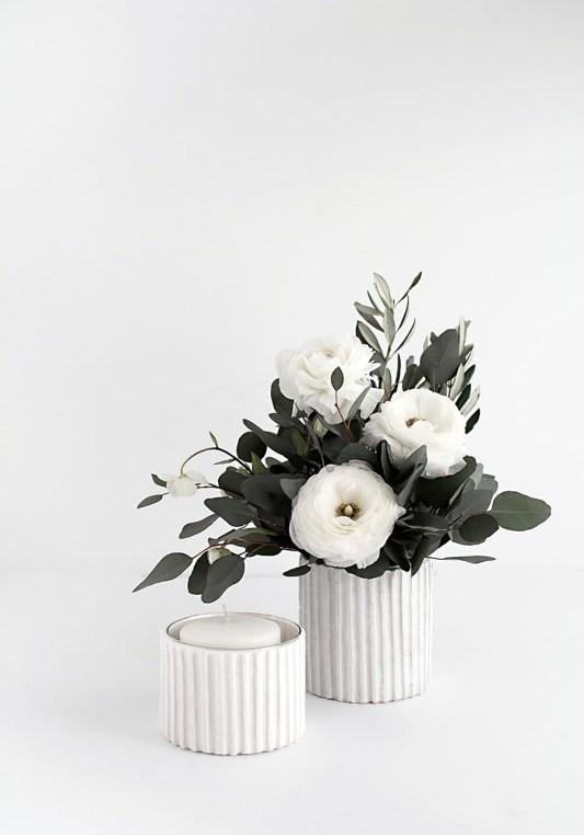DIY Flower Vases Homey Oh My