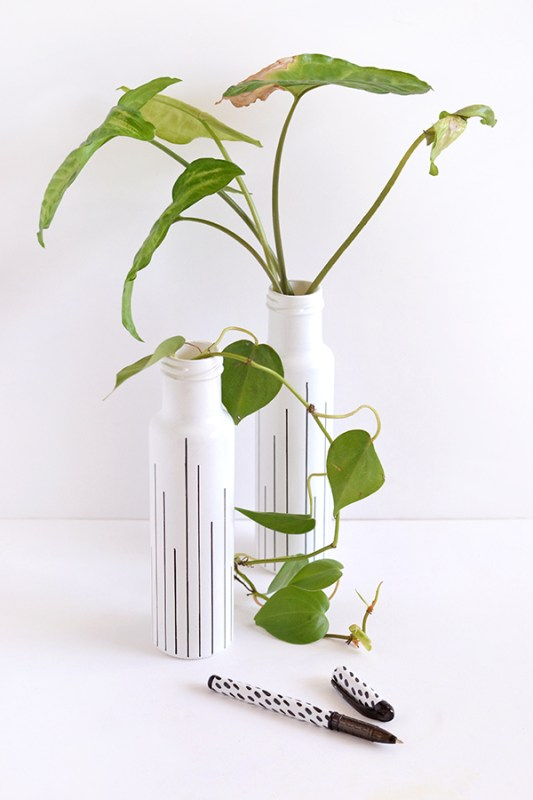 DIY Flower Vases Make And Tell