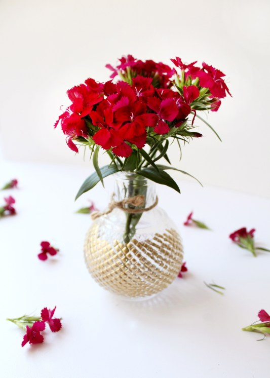 DIY Flower Vases Tag And Tibby