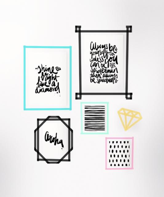 20 Ways to Decorate With Washi Tape - Maiko Nagao