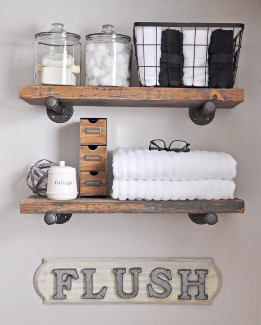 DIY Shelving Cherished Bliss