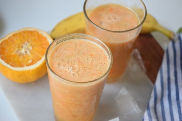 Mango Sunrise Smoothie | Healthy Breakfast Idea | Smoothie Recipe