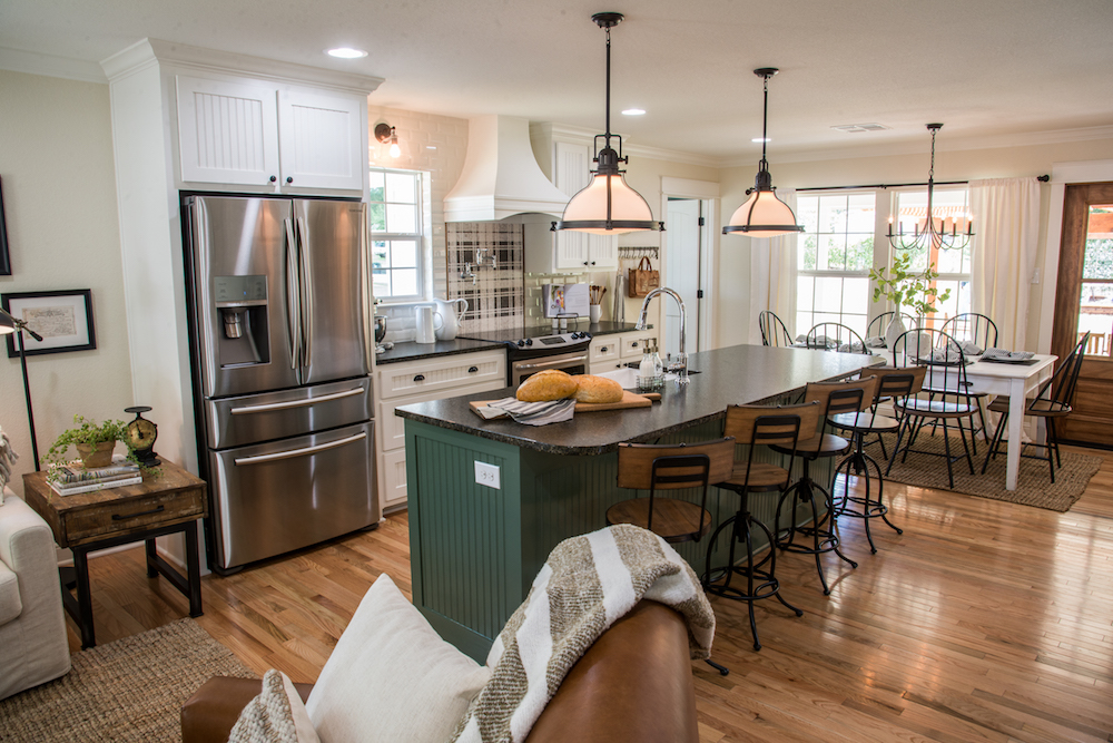 Fixer Upper Graham House Kitchen and Dining Spaces