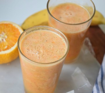 Mango Sunrise Smoothie