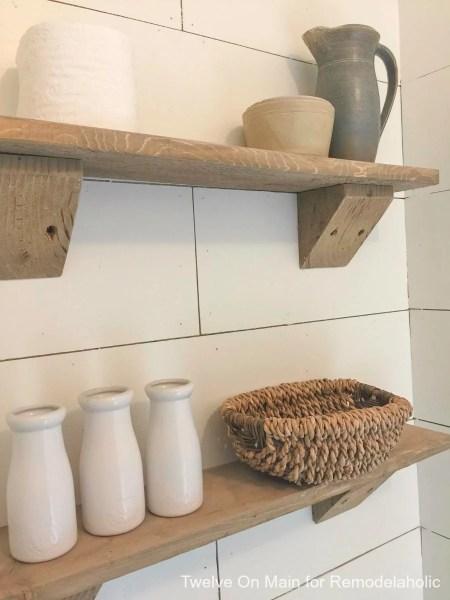 Rustic Farmhouse Shelves By Twelve On Main8