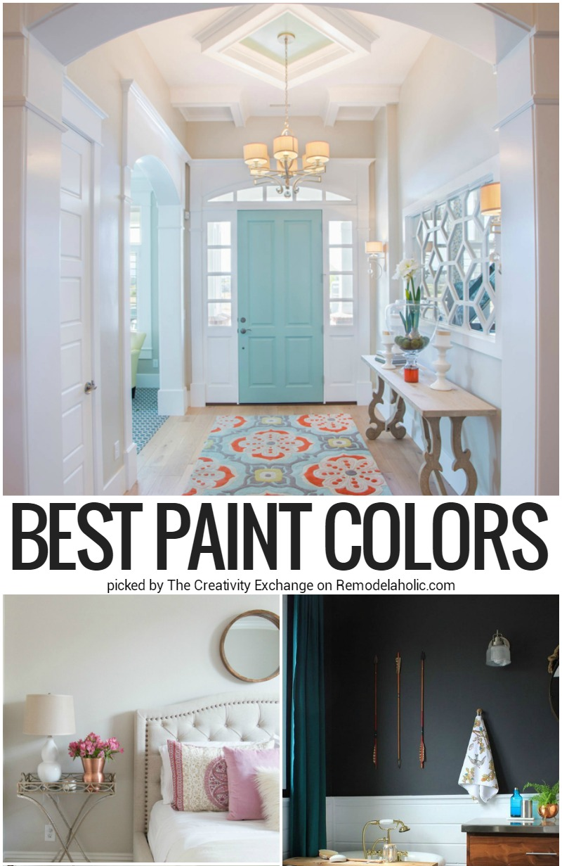 Remodelaholic | Best Paint Colors and Tips from 2016