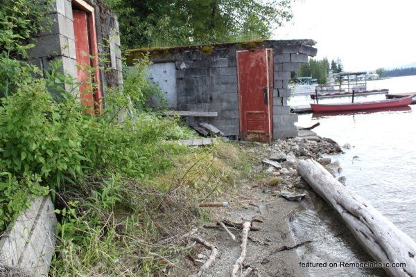 Boat House Renovation Before And After Featured On @Remodelaholic (1)