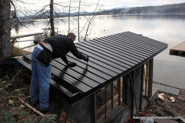 Boat House Renovation Before And After Featured On @Remodelaholic (22)