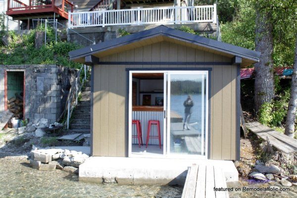 Boat Shed Renovation Before And After Featured On @Remodelaholic (3)