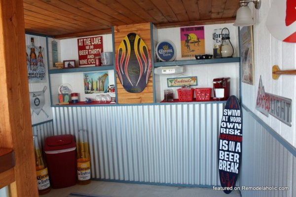 Boat Shed Renovation Before And After Featured On @Remodelaholic (6)
