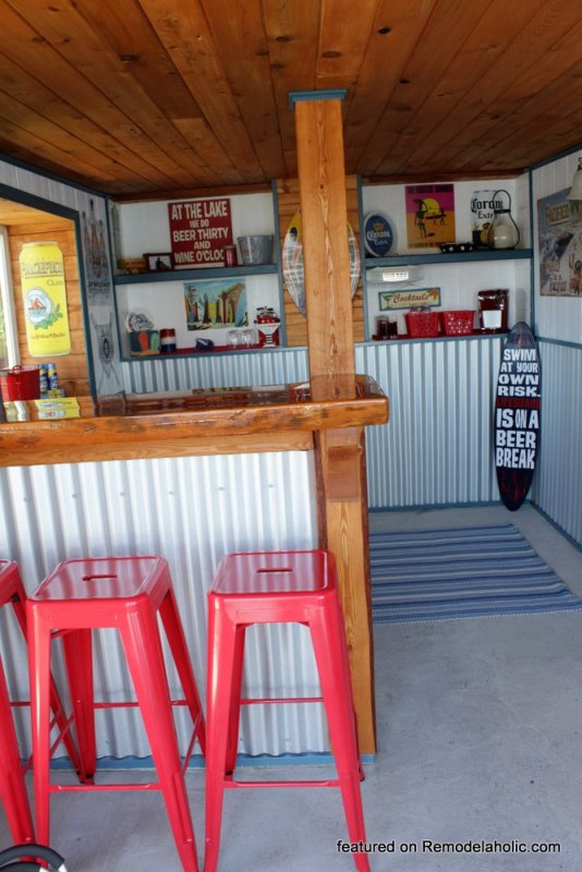 Boat Shed Renovation Before And After Featured On @Remodelaholic (8)