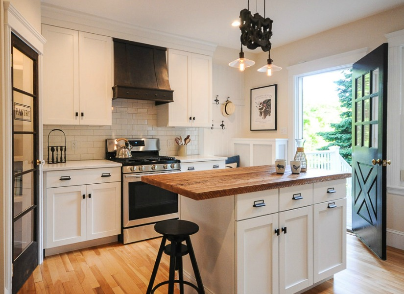 Remodelaholic | Modernized Bungalow Kitchen Renovation with ...