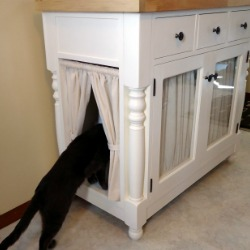 Diy Kitty Litter Cabinet Remodelaholic