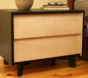 How to Build a Mid-Century Modern Nightstand