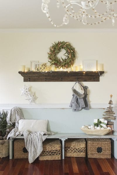 Remodelaholic DIY Farmhouse Entryway Inspiration
