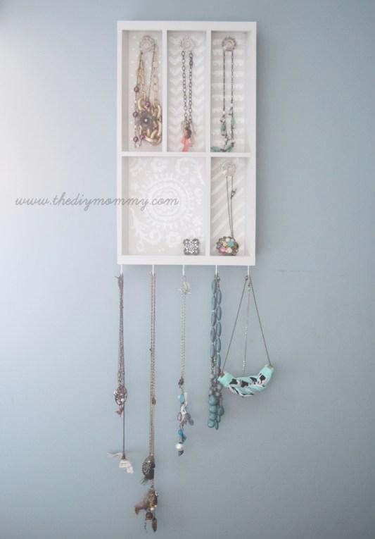 DIY Jewelry Organizer Ideas The DIY Mommy