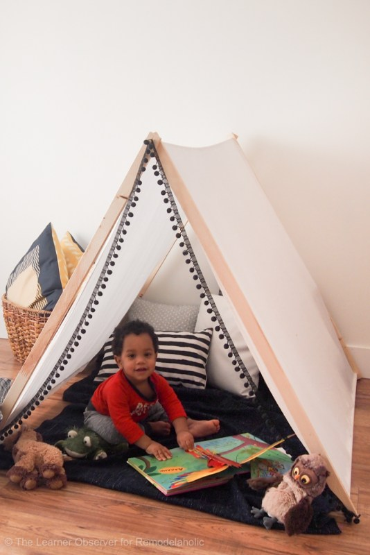DIY Kids Tent The Learner Observer 10