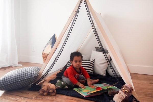 DIY Kids Tent The Learner Observer 7