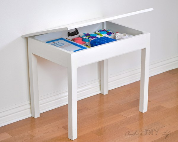 DIY Kids Table With Storage Orig 2700