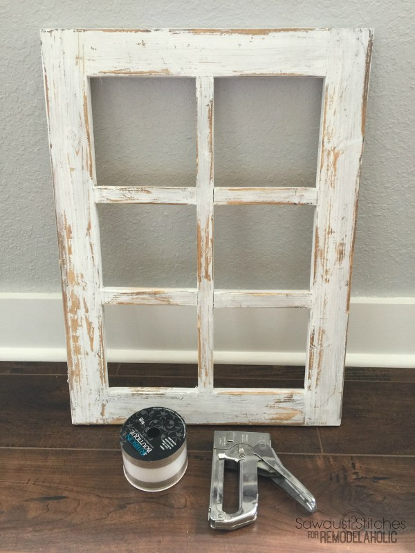 Remodelaholic | How to Build a Decorative Window Frame From Just ONE ...