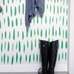 Brush Stroke Wall