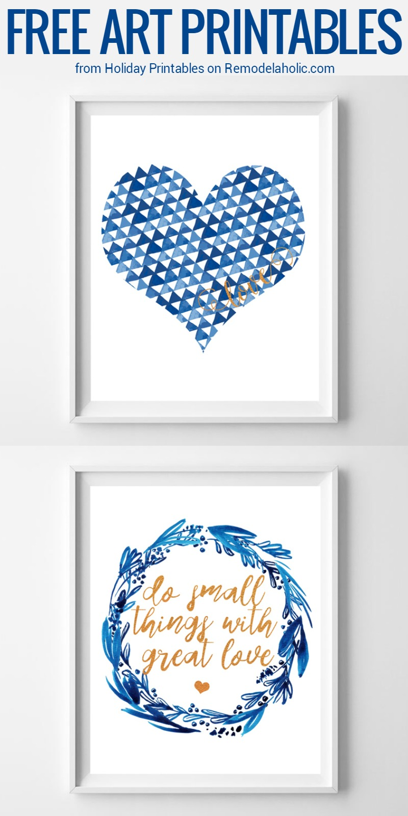 Remodelaholic | Forget Pink! 18 Non-Traditional Valentine\'s Day Art ...