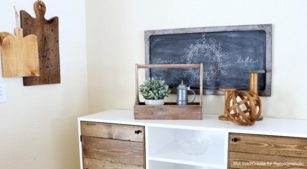 Full Side View Antique Crate, MyLove2Create