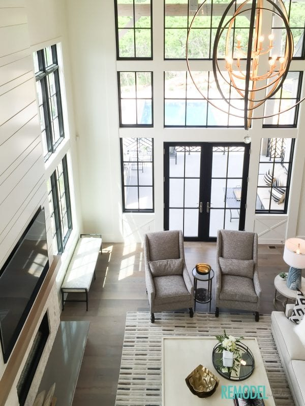 Remodelaholic | Get This Look: Modern Farmhouse Living Room