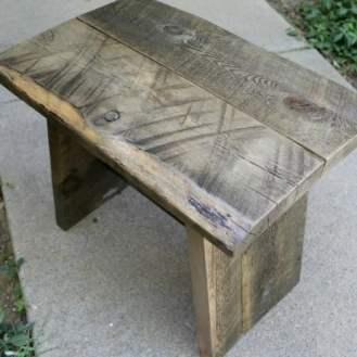 Scrap Project, Reclaimed Wood Stool