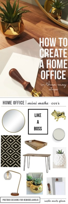 Tips For A Home Office That Is Beautiful And Functional @Remodelaholic
