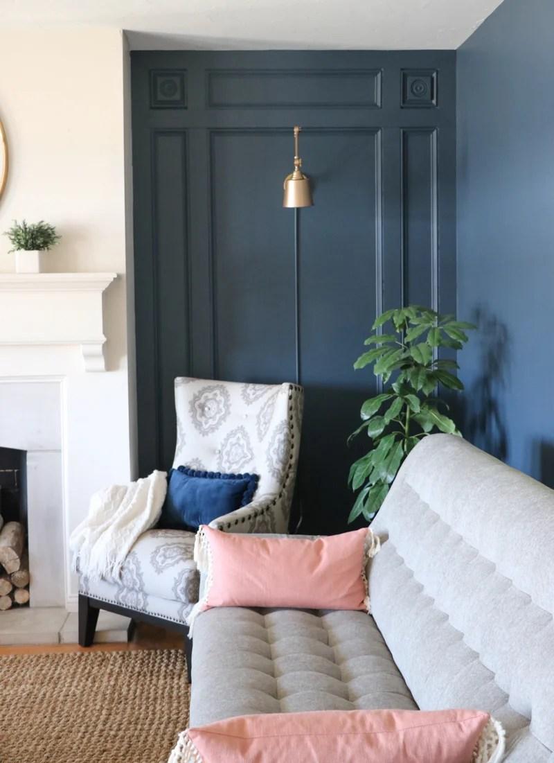 DIY Elegant Wall Treatment 1