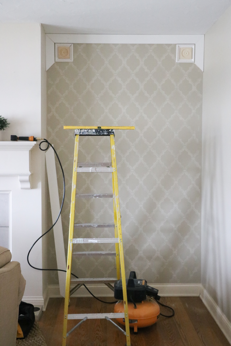 Elegant DIY Paneled Wall 2
